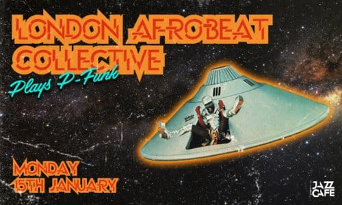 London Afrobeat Collective Plays P-Funk