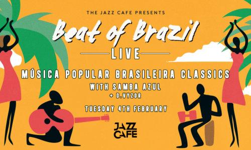 Beat of Brazil Live: Música Popular Brasileira Classics